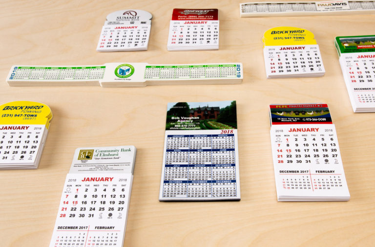 Wholesale Printed Products Calendars